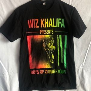 Wiz Khalifa Boys of Zummer tour tee